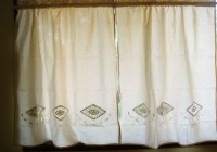 cafe latte kitchen curtains