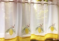 cafe net curtains kitchen