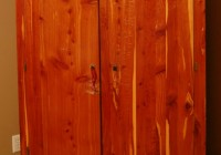 Cedar Wardrobe Closet For Sale