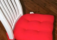 Chair Back Cushions With Ties