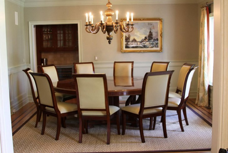 Permalink to Chandelier For Round Dining Table