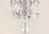 chandelier table lamps crystals