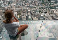 Chicago Observation Deck Crack