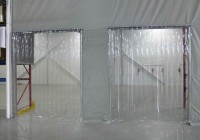Clear Strip Curtain Door