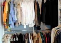 Closet Clothes Rod And Shelf