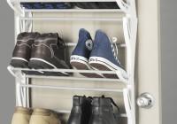 closet door shoe organizer