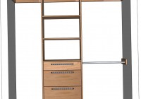 Closet Organizer Design Plans