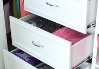 Closet Organizers With Drawers And Shelves