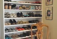 Closet Shoe Rack Plans