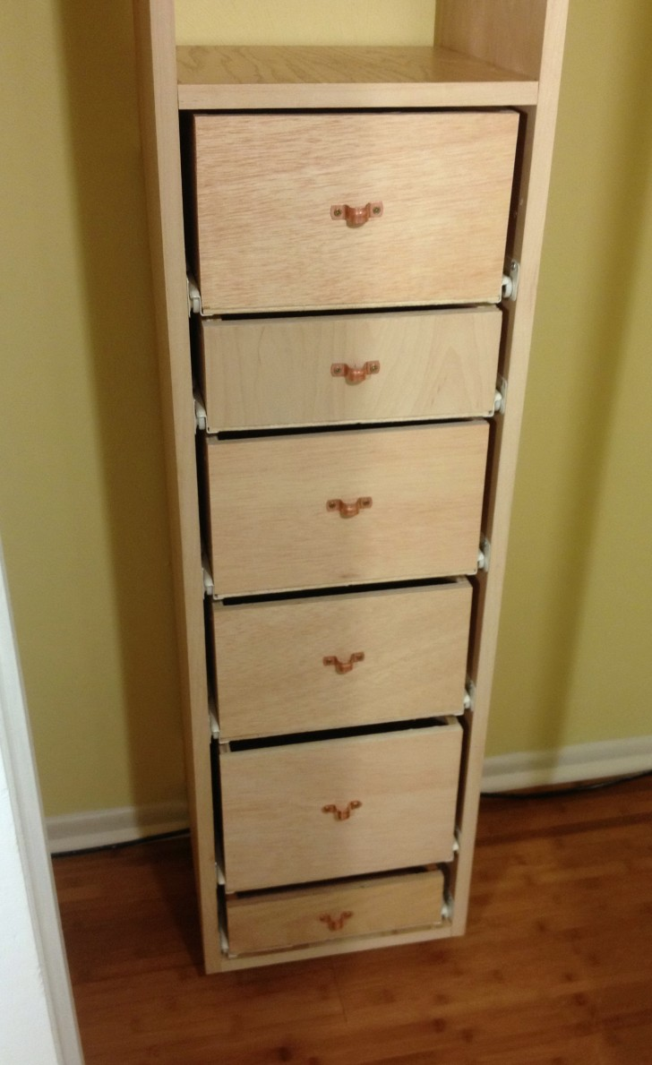 Permalink to Closet Tower With Drawers