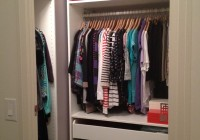 coat closet organization systems