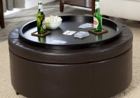 Coffee Table Ottoman Round