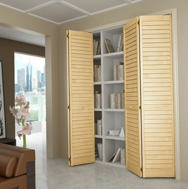 Permalink to Colonial Bi Fold Closet Doors