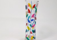 colored glass vases wholesale
