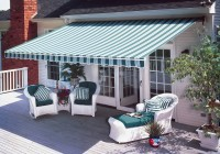 Colors Patterns Retractable Deck Awnings