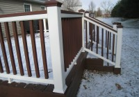 composite deck railings photos