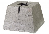 Concrete Deck Pier Block