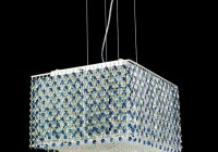 contemporary square crystal chandelier