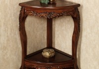 Corner Accent Table For Dining Room