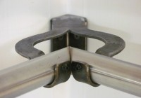 Corner Curtain Rod Bracket