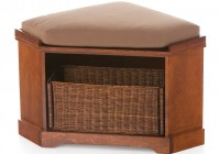 Corner Storage Bench Seat