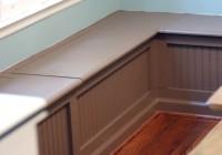 Corner Storage Bench Seat Plans