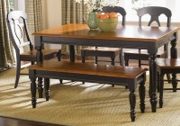 country kitchen tables with benches