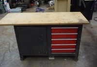 Craftsman Workbench 5 Drawer