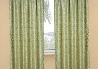Cream And Sage Green Curtains