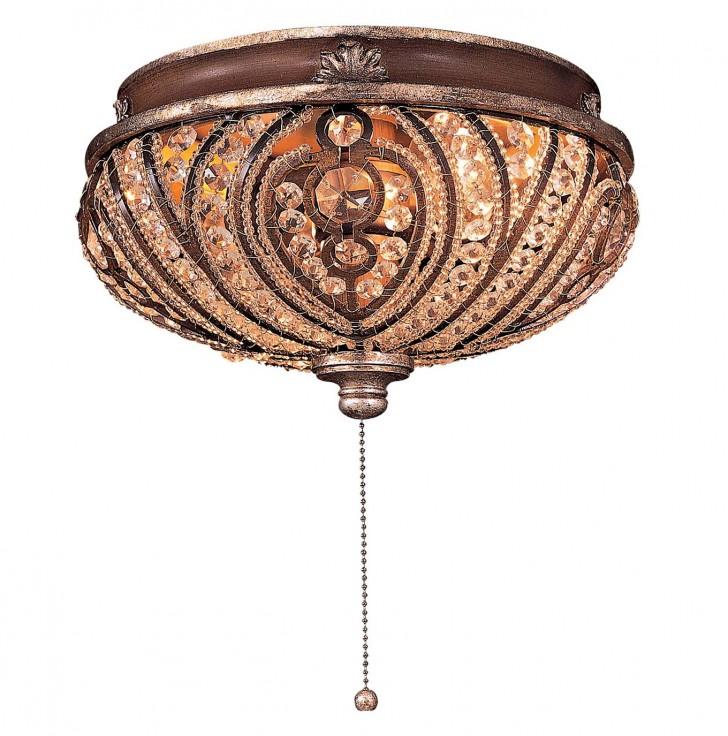 Permalink to Crystal Chandelier Light Kit For Ceiling Fan