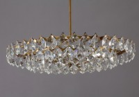 Crystal Glass Drop Chandelier