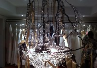 Crystal Pirate Ship Chandelier