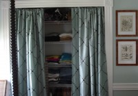 Curtain Ideas For Closets