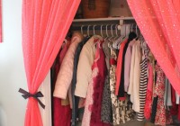 Curtain Over Closet Door