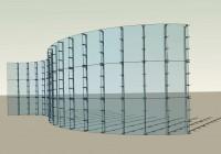 Curtain Wall Detail Plan