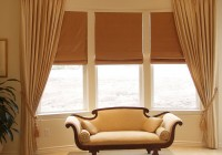 curtains and blinds for bay windows