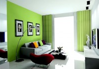 Curtains Color And Wall Color