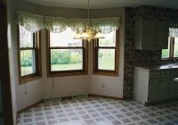 Curtains For Bay Windows In Kitchen