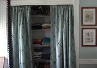 curtains for closet doors ideas