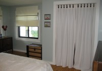 Curtains For Closet Doors Pinterest