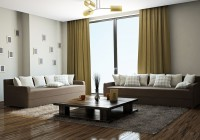 Curtains To Match Chocolate Brown Sofa