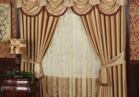 Curtains With Valance For Living Room