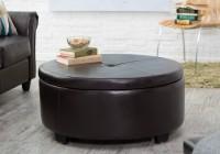 Cushion Coffee Table Ottoman