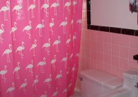 Cute Pink Shower Curtains