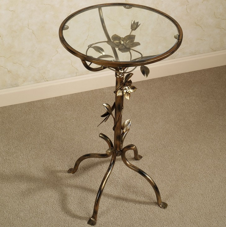 Permalink to Dar Metal Accent Table
