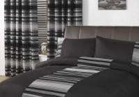 Dark Grey Chenille Curtains