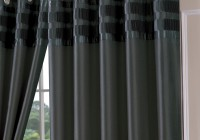 Dark Grey Curtain Panels