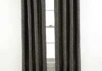 dark grey velvet curtains