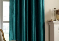Dark Teal Curtain Panels