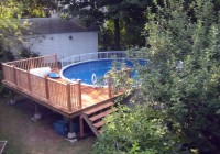 Deck Around Above Ground Pool